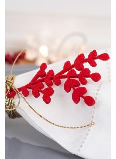 Funbou Keçe Süs, Çiçek / 24 Adet Kırmızı